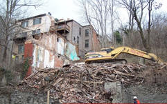 We are a demolition contractor serving Greater Cincinnati and Northern Kentucky areas